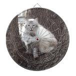 El gato en el roble tablero dardos