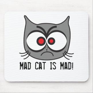 ¡El gato enojado está enojado! Alfombrilla De Raton