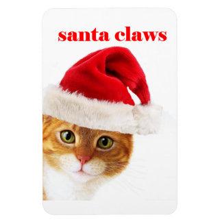 El gato es garras de Santa Iman De Vinilo