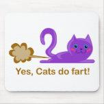 El gato fart - gato el farting tapete de raton