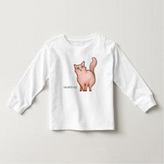 El gato gruñón Sue malhumorada embroma la camiseta
