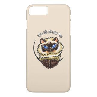 El gato Himalayan IAAM se ruboriza Funda iPhone 7 Plus
