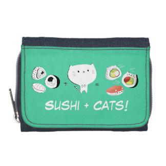 ¡El gato más el sushi iguala Cuteness!