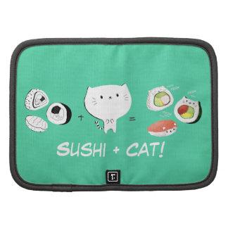 ¡El gato más el sushi iguala Cuteness! Planificadores