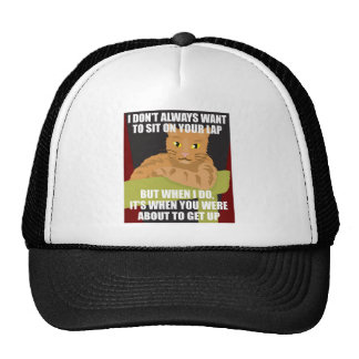 ¡El gato más interesante del mundo! camisetas/taza Gorros Bordados