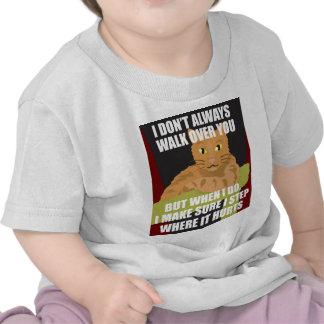 ¡El gato más interesante del mundo! camisetas/taza