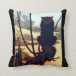 El gato negro almohada