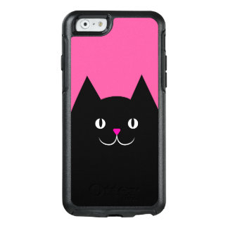El gato negro funda otterbox para iPhone 6/6s