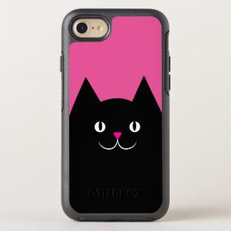 El gato negro funda OtterBox symmetry para iPhone 7