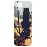El gato negro iPhone 5 Case-Mate coberturas