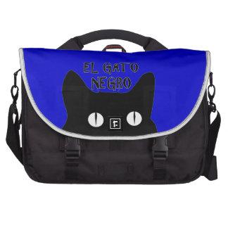 El Gato Negro  - The Black Cat Bags For Laptop