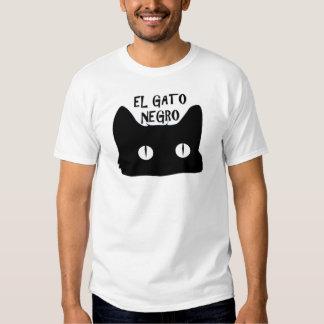 El Gato Negro  - The Black Cat T-Shirt