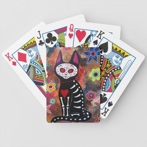 EL Gato por Prisarts Cartas De Juego