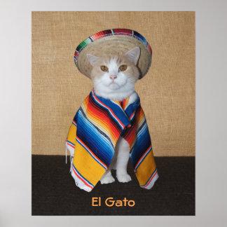 EL Gato Póster
