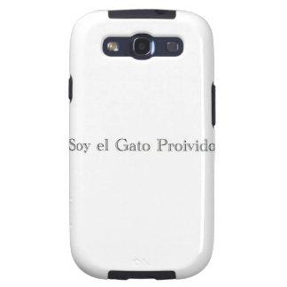 EL Gato Proivido de la soja soy el gato prohibido Galaxy S3 Cárcasa