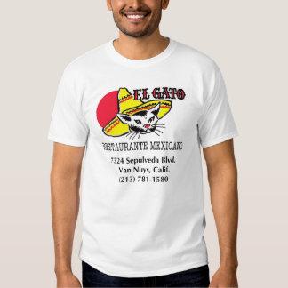 EL Gato Restaurante Mexicano T Shirt