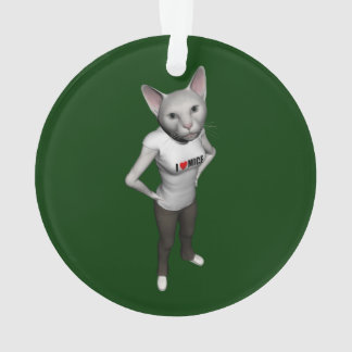 El gato siamés blanco divertido ama ratones