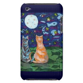 El gato soña la luna del arte, protagoniza barely there iPod funda