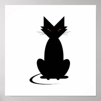 El gato terrible de Ella Poster