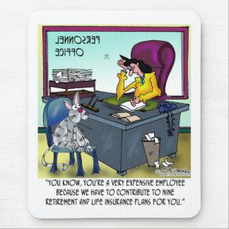 El gato tiene 9 planes del seguro de vida alfombrilla de ratón