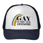 El gay es el nuevo impresionante gorro