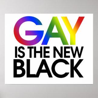 El gay es el nuevo negro poster