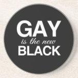 EL GAY ES EL NUEVO NEGRO - .PNG POSAVASOS PARA BEBIDAS