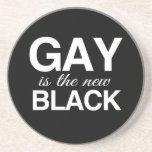 EL GAY ES EL NUEVO NEGRO - .PNG POSAVASOS DISEÑO