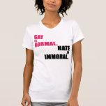El gay es normal camiseta