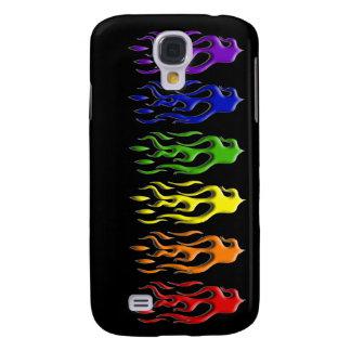 El gay flamea la caja de la galaxia S4 de Samsung Carcasa Para Galaxy S4