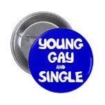 El gay joven y escoge pins