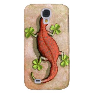 El Gecko de St Patrick Funda Para Galaxy S4