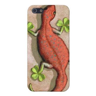 El Gecko de St Patrick iPhone 5 Carcasa