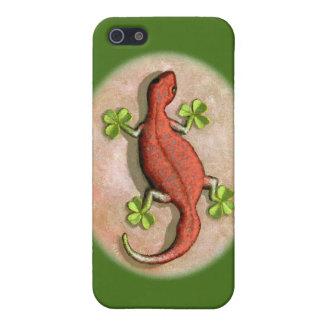 El Gecko de St Patrick iPhone 5 Fundas