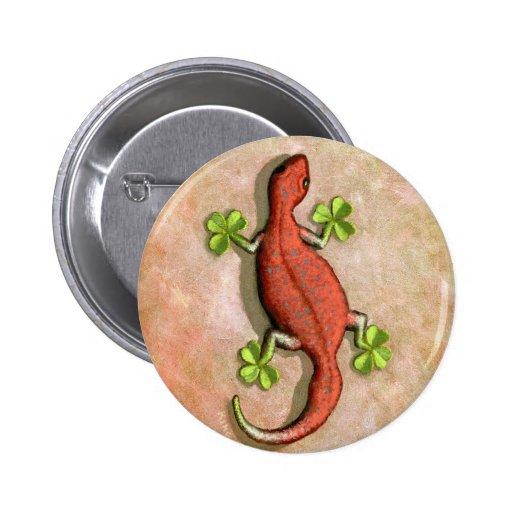 El Gecko de St Patrick Pin
