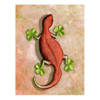 El Gecko de St Patrick Postal