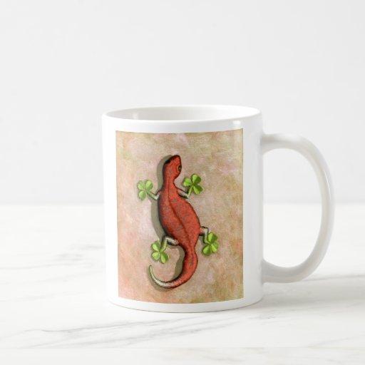 El Gecko de St Patrick Taza Clásica