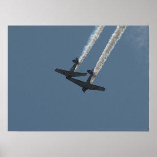 El GEICO Skytypers. Póster
