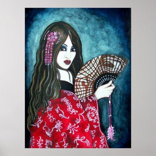 El geisha póster