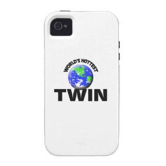 El gemelo más caliente del mundo iPhone 4/4S funda