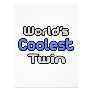 El gemelo más fresco del mundo tarjetones