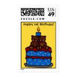 el gemelo refiere la 1ra torta de cumpleaños franqueo