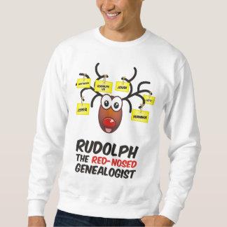 El Genealogist con la nariz roja Sudadera