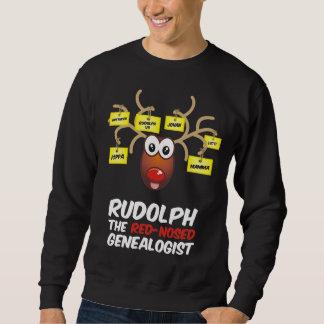 El Genealogist con la nariz roja Sudaderas