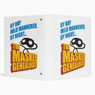"El Genealogist enmascarado Carpeta 1"""