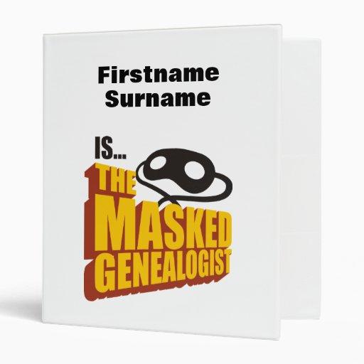 El Genealogist enmascarado - personalizado