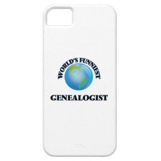 El Genealogist más divertido del mundo iPhone 5 Case-Mate Cárcasa