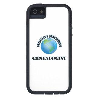 El Genealogist más feliz del mundo iPhone 5 Case-Mate Cárcasa