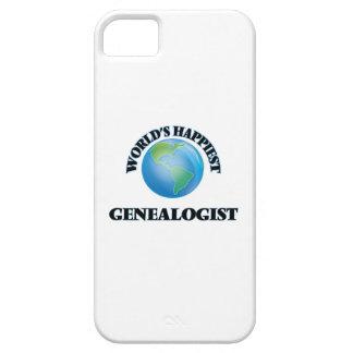 El Genealogist más feliz del mundo iPhone 5 Fundas