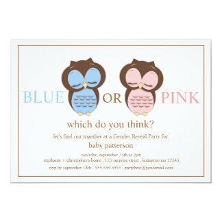 El género azul o rosado del bebé de los pequeños anuncios personalizados